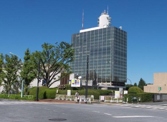 代々木公園駅_NHK放送センター