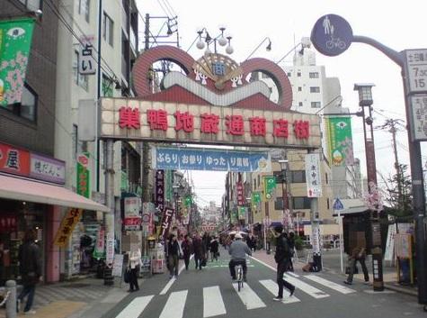 巣鴨駅_風景