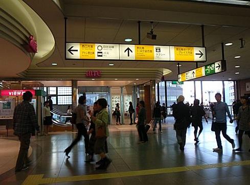 恵比寿駅_待ち合わせ_改札アトレエレベーター