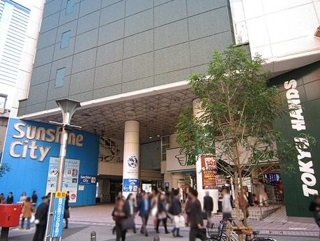 池袋駅_サンシャインシティ入り口