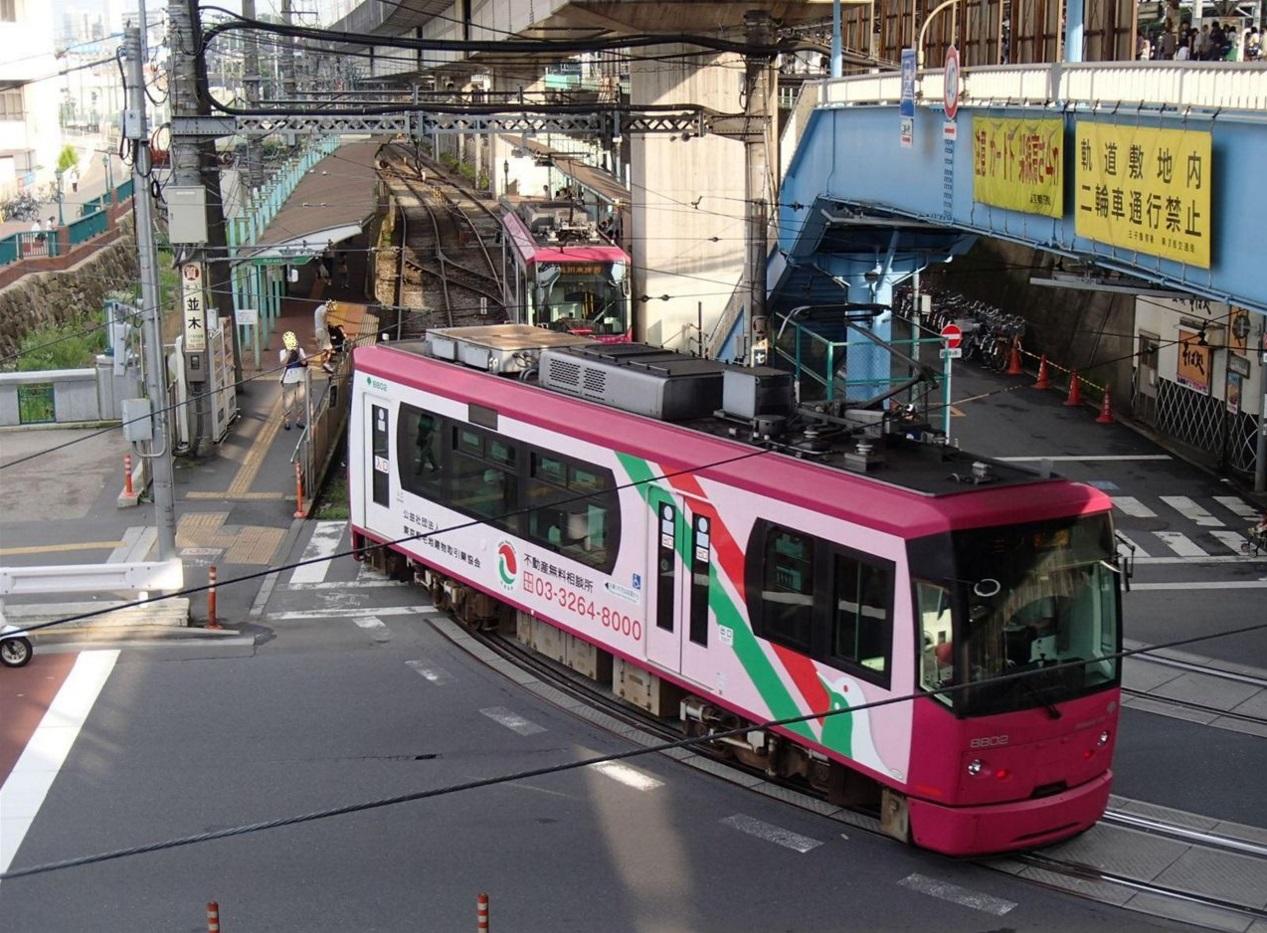 北区_王子駅_都電荒川線_チンチン電車