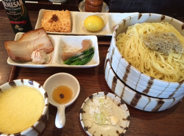 北区_赤羽_金字塔_つけ麺