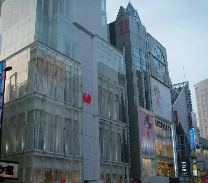 原宿駅_HANDM_FOREVER21