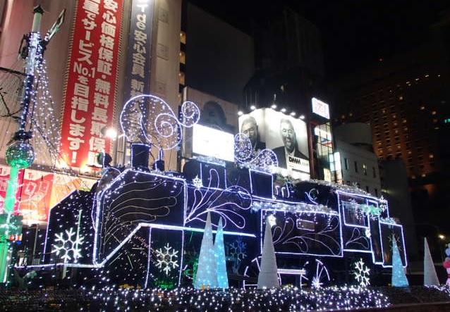 新橋駅_SL蒸気機関車