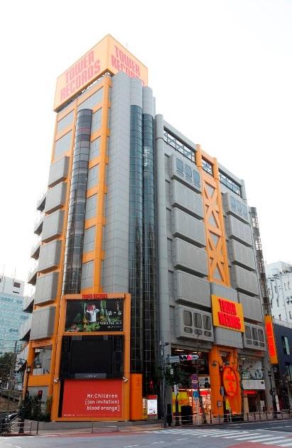 渋谷駅_タワーレコード