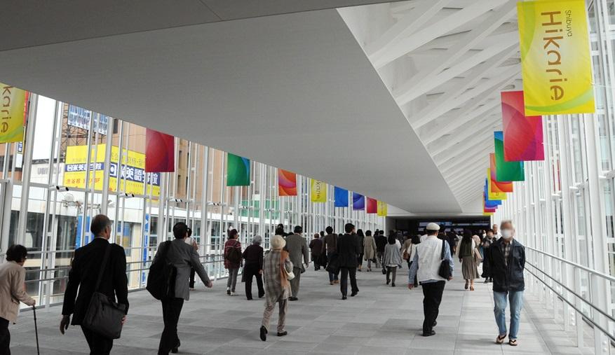 渋谷駅_ヒカリエ_駅直結