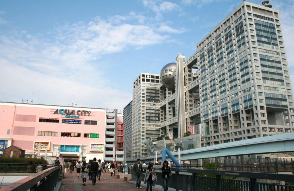 お台場駅_風景