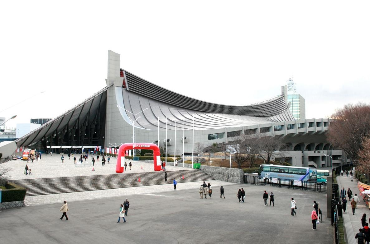 代々木公園駅_国立代々木競技場
