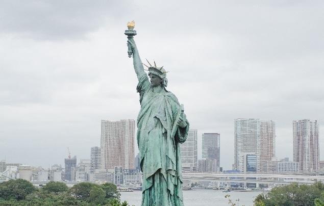 お台場_自由の女神像