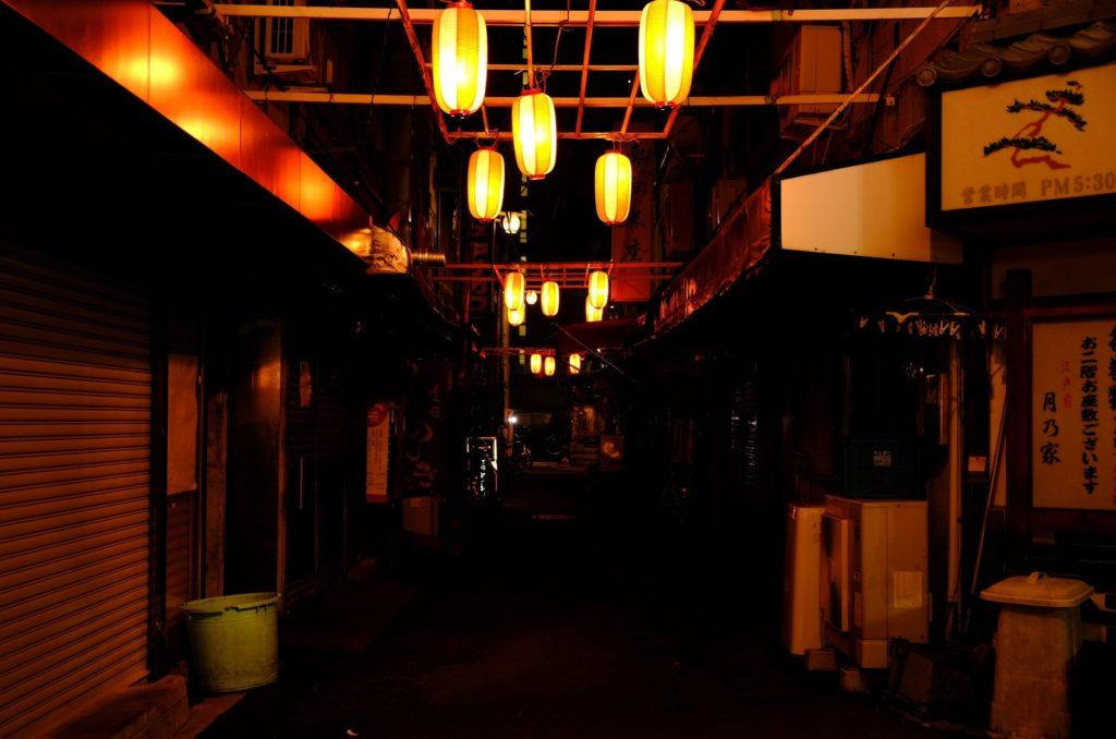 赤羽駅_東口の夜の王道_一番街の雰囲気