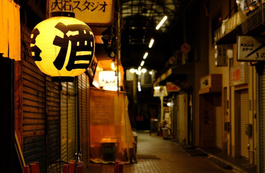 赤羽駅_東口の夜の王道_一番街の雰囲気2