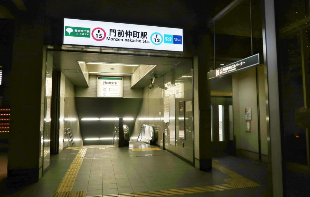 門前仲町駅_駅前