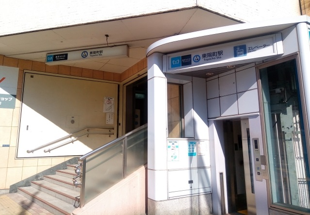 東陽町駅_風景