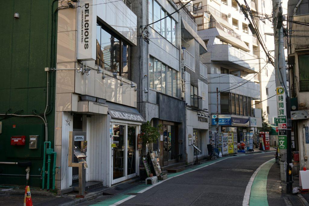 神泉駅_町並み