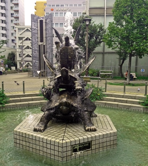 亀戸駅_亀戸の亀