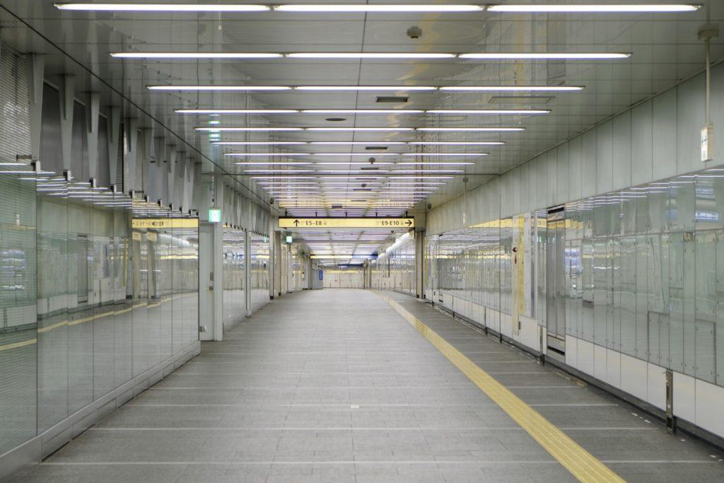 新宿三丁目駅_便利な地下道