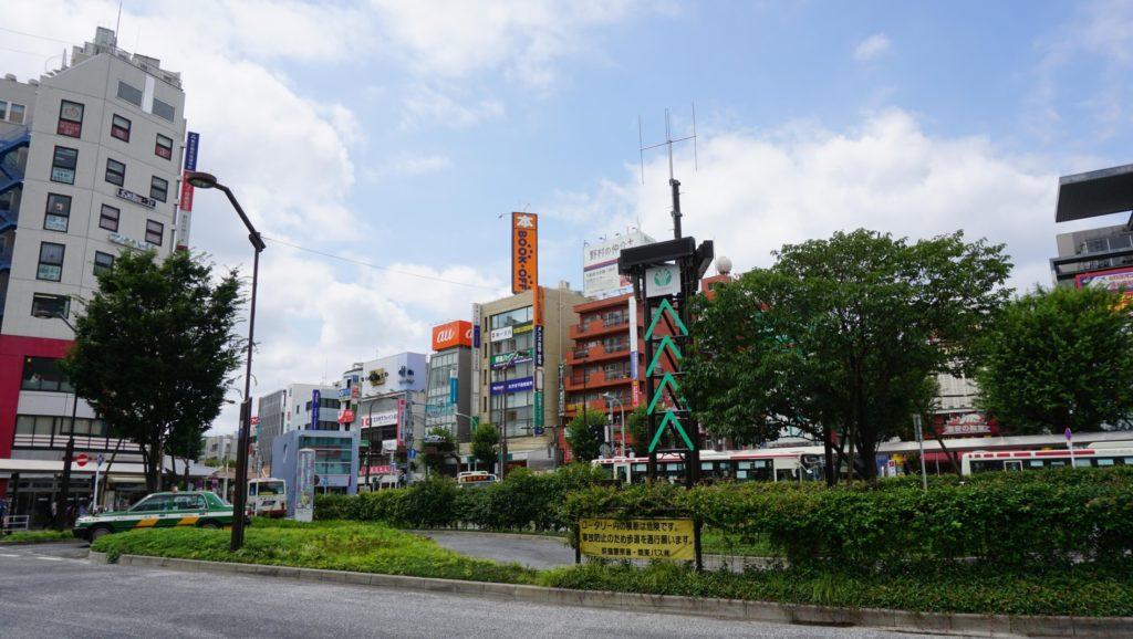 荻窪駅_駅前ロータリー