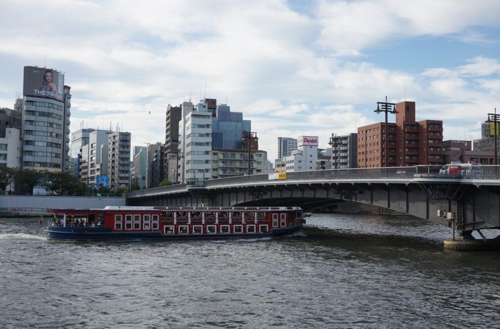両国駅_両国橋と水上