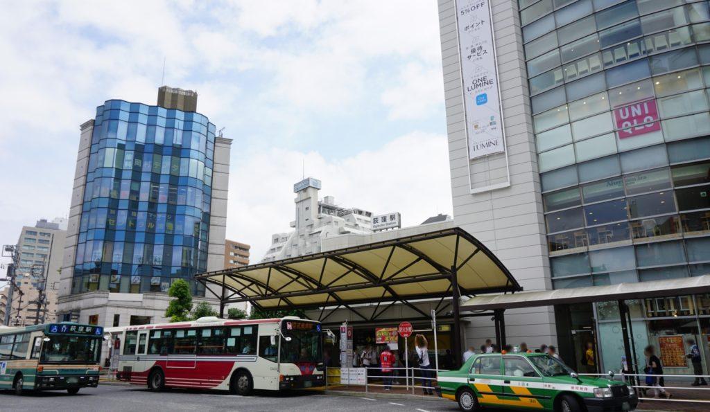 荻窪駅_バス停とタクシー乗り場_LUMINE