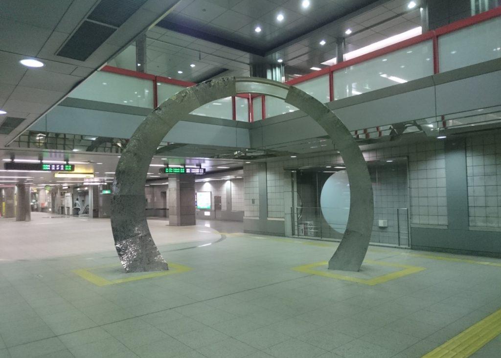 都庁前駅_シンボル