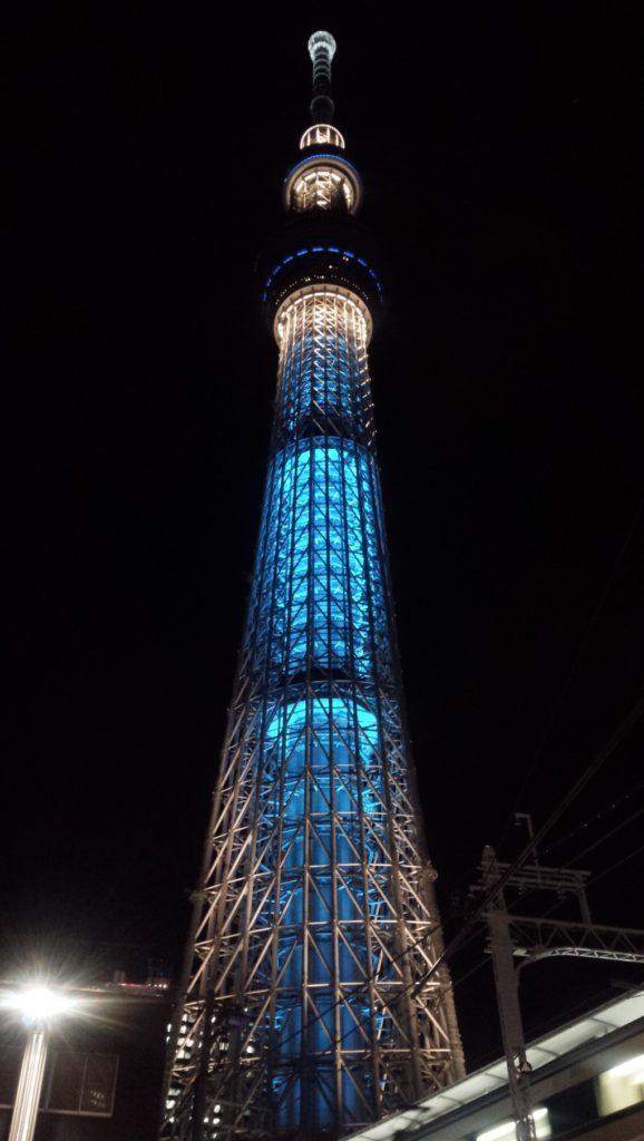 押上駅(スカイツリー前)_東京スカイツリー_ライトアップ