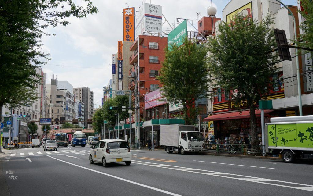 荻窪駅_青梅街道