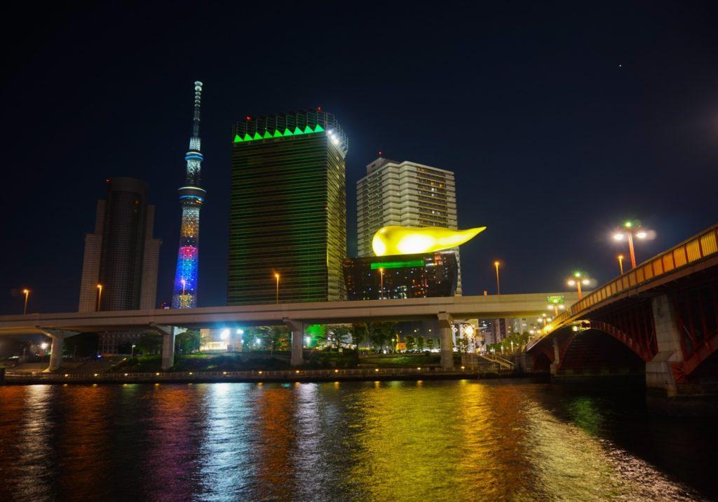 押上駅(スカイツリー前)_東京スカイツリー_夜の風景