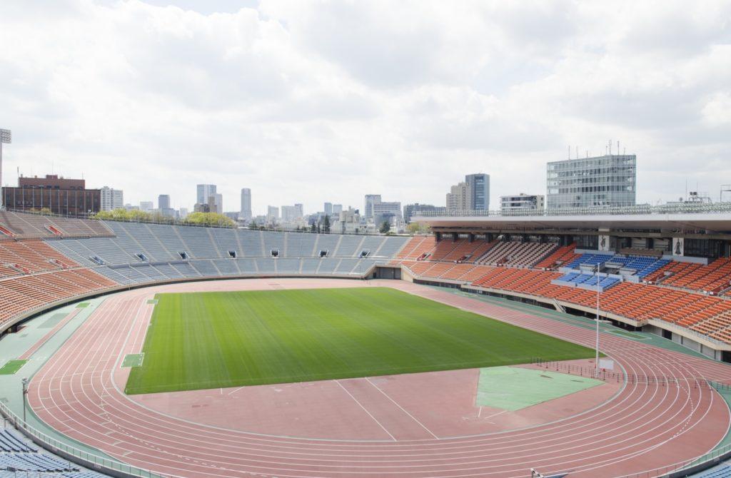 国立競技場_グラウンド