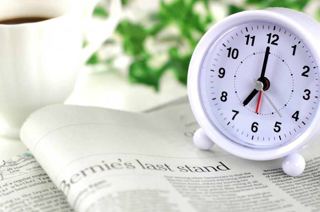 所要時間別の暇つぶし方法_時計
