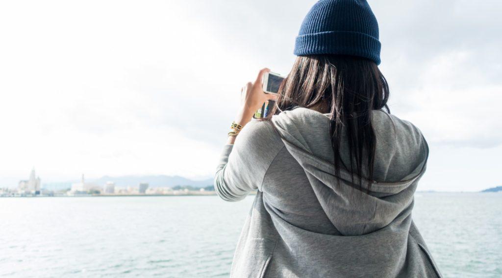散歩しながらできる暇つぶし_スマホカメラで景色の撮影