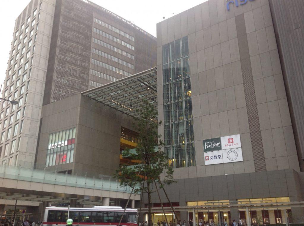二子玉川駅_駅と商業施設