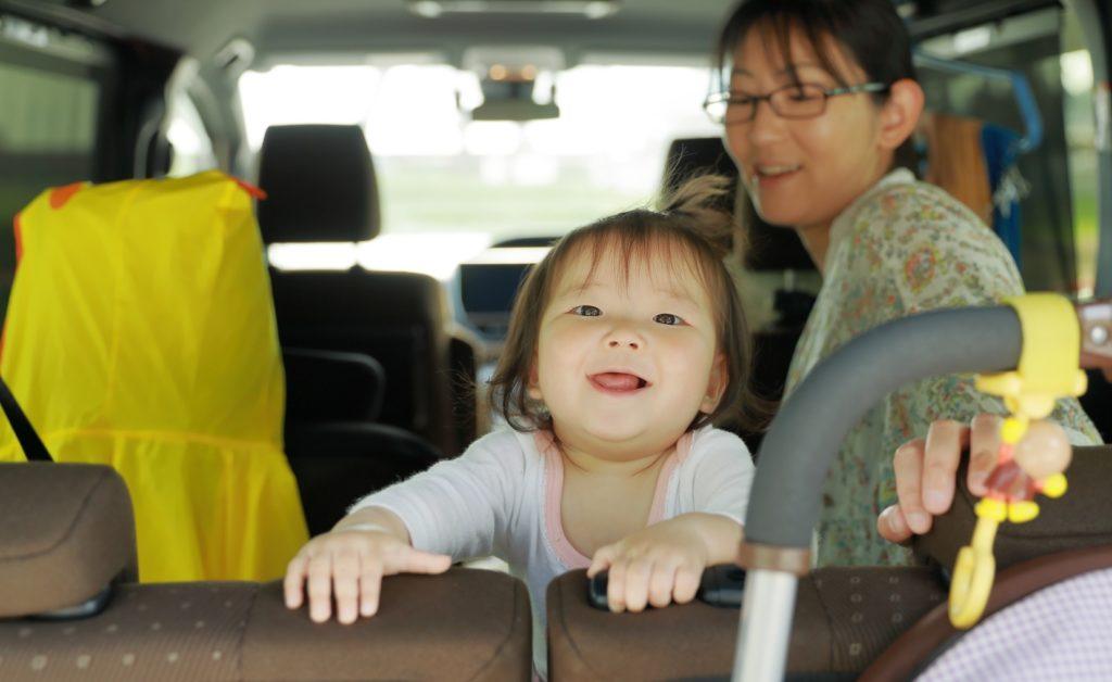 ドライブ中に子供と一緒にできる暇つぶし_娘