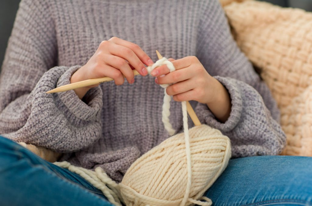子なし専業主婦の暇つぶし_編み物